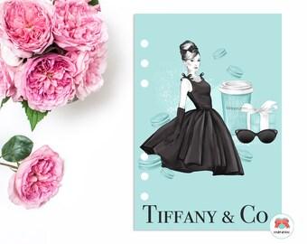 Breakfast At Tiffany's | DASHBOARD | Kikki K | Filofax | Personal | A5 | Planner Cover
