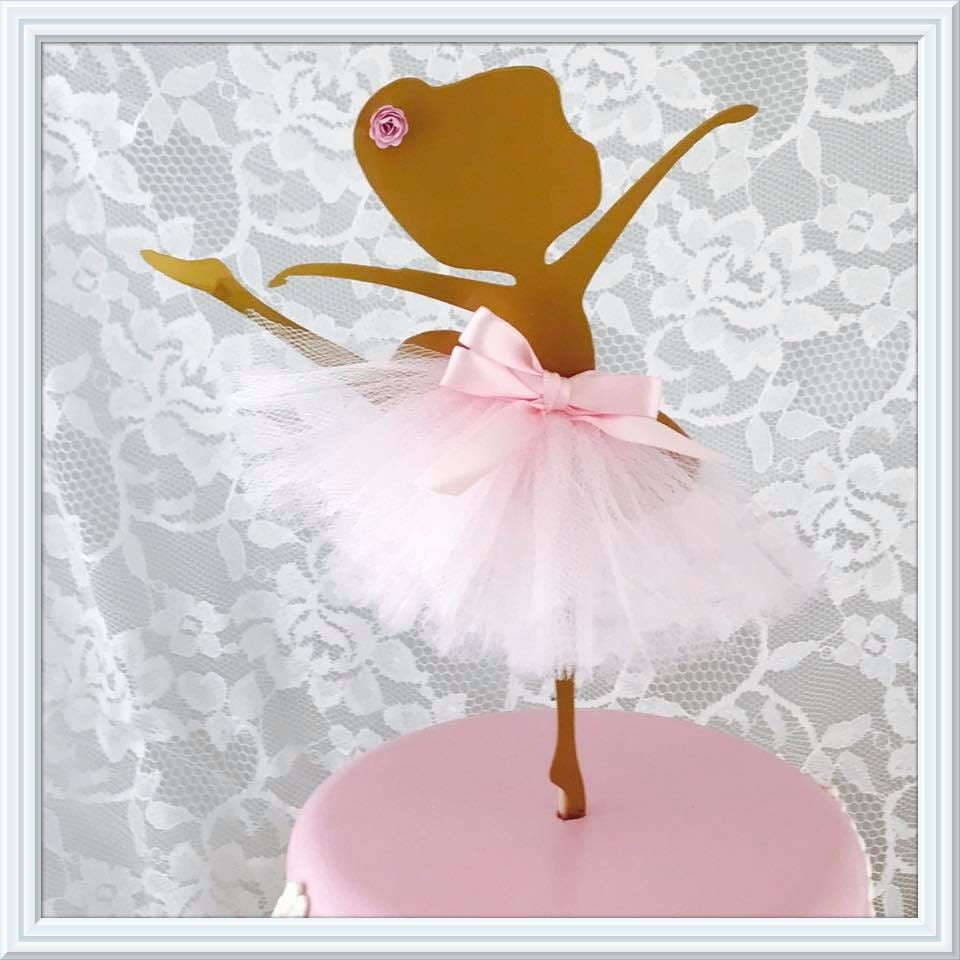 Ballerina cake topper metal ballerina ballerina wall for Ballerina decoration