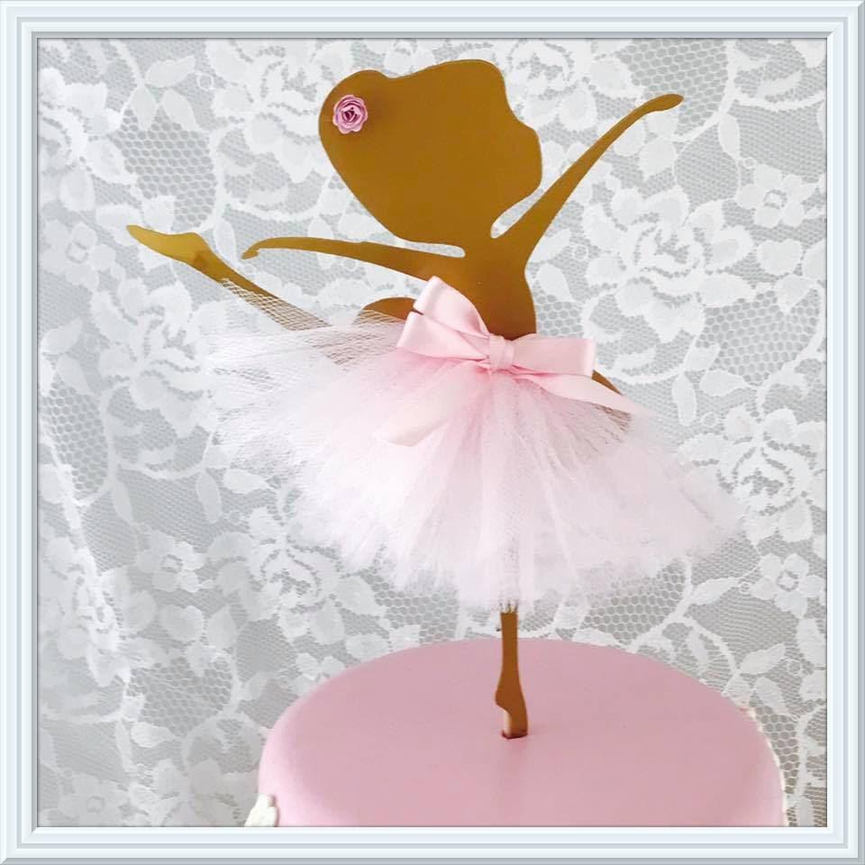 Ballerina cake topper metal ballerina ballerina wall for Ballerina party decoration