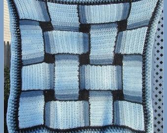 Crocheted Baby Blanket or Lapghan . .