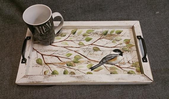 Decorative Tray Barn Wood Serving Tray Table Tray Kitchen