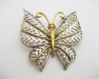 Vintage Butterfly  Pin Vintage  Avon Butterfly  Brooch Vintage Avon Pin  Vintage Avon Brooch Vintage Butterfly Brooch