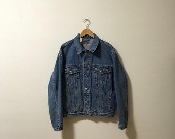 Vtg Nevada boyfriend denim jacket
