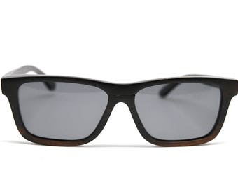 Clearance - Solid Ebony Wood Sunglasses
