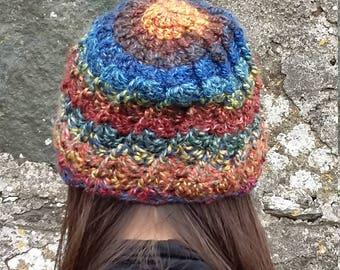 Elfin crochet cap
