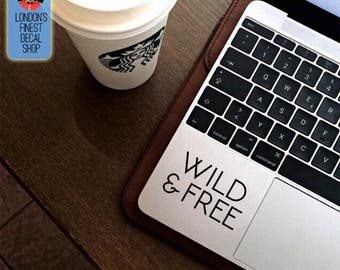 Wild & Free Macbook / Laptop Vinyl Decal