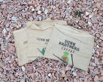 Costa Rica Pura Vida Burlap Coffee Bean Bag Large Feed Sack