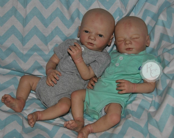 Items Similar To Twin Realborn Clyde Reborn Lifelike Art