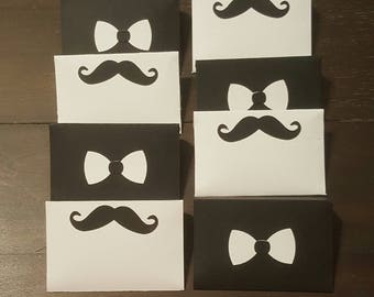 Mustache and Bow Tie