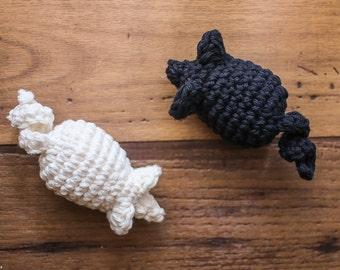Cotton Crochet Mouse Cat Toy