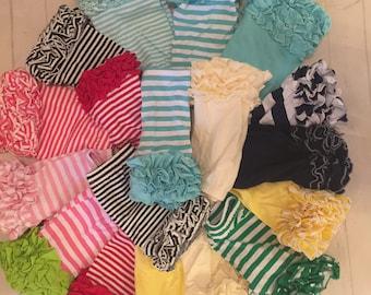 SALE SUMMER BLOWOUT!Toddler girls ruffled Icing shorts, girls pink,red,black,Aqua,ruffled Icing style shorts, toddler ruffled bottom shorts