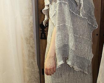 LINEN TUNIC - Women's clothing T3