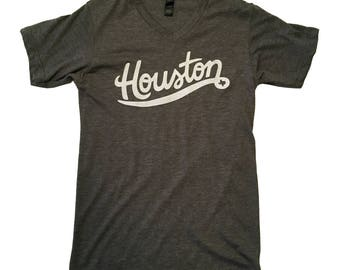 Gray Houston V-Neck