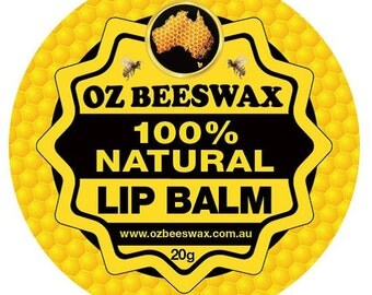 Oz Beeswax 100% Natural Lip Balm