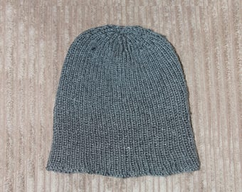 Instant download ' Brodie' knitted mens rib hat beanie pattern, Beanie, Cap HKP14