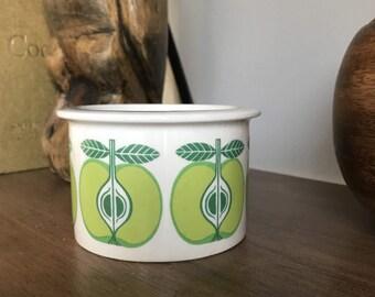 Arabia Finland Greeen Apple Pomona Jam Jar