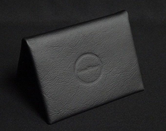 Bantam8 Wallet - Black - Kangaroo leather with RFID credit card blocking - Handmade - James Watson