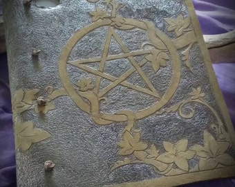 Handcrafted Leather Bound Book/BOS/Journal/Diary/Grimoire