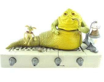 Star Wars Jabba The Hutt Action Playset Kenner 1983 Complete