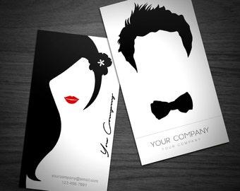Business Card Template Design / Elegant Business Card Design / Hairstylist and Makeup Artist Business Card/ Photography Business Card