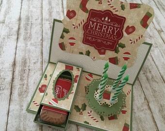 "Easel card ""Merry Christmas"""
