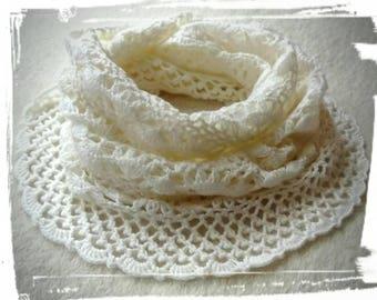 Stunning crochet shawl, wrap. Merino wool.