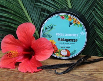 Vanilla Coconut Body Butter - Vanilla body butter exotic Madagascar