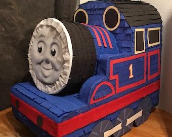 Thomas the train inspired pinata