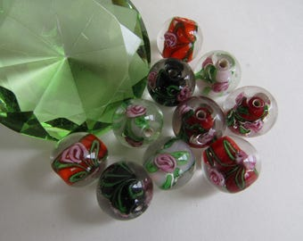 Faery Floral ~ Glass Beads