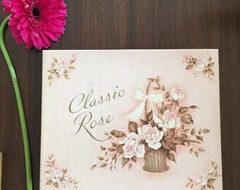 Vintage Classic Rose box