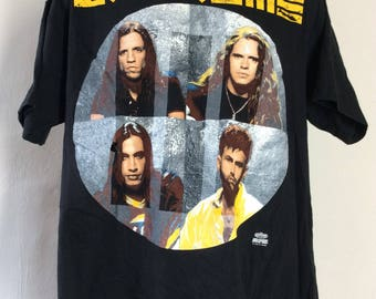 Vtg 1992 Extreme III Sides To Every Story T-Shirt Black L/XL 90s Hard Rock Band