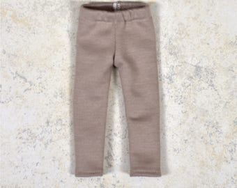 Leggings 14.5 inch doll clothes Beige