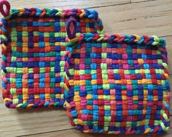 Potholders, set of 2