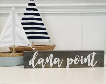 Dana Point Sign