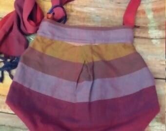 Girasol wrap scrap shoulder bag