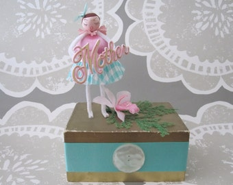 Vintage Inspired Mother's Day, Birthday, Gift Dolly