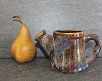 Mini Decorative Watering Can Vintage Hermitage Pottery