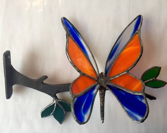 Stained glass butterfly, Mothers Day gift, butterfly, nature gift,unique butterfly, butterfly art