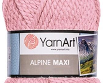 ALPINE MAXI YarnArt  250 gr. - 105 m. knitting crochet Soft yarn , Wool Yarn, Wool mixture, chunky yarn