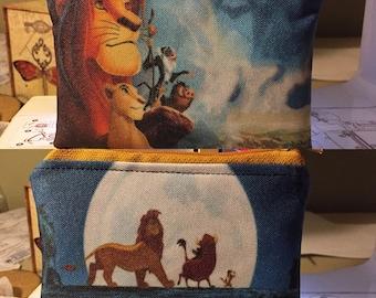 Lion king disney coin/card pouch