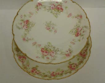 Limoges France Plates Guerin-Pouyat-Elite LTD.