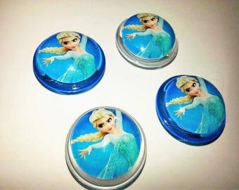 ELSA MAGNETS,Disney Frozen Magnets,Set of Four Magnets,OFFICE Decor,Office Supply,Back to School,Locker Magnets,Fridge Magnets