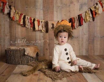 Where the Wild Things Are Romper, Where the Wild Things Are Outfit, Wild Things outfit, Wild Things cake smash, Wild Things birthday