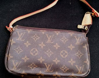 PROMO!!! Louis Vuitton Monogram Pochette-Clutch-Pouch, Little handbag, Louis Vuitton