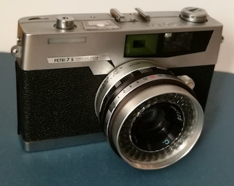 Petri S with New Light Seals. Ready-To-Use Vintage 1960s Rangefinder Camera with Limited Capabilities