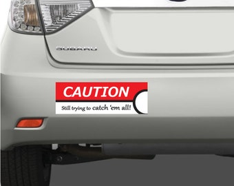 Pokemon Bumper Sticker