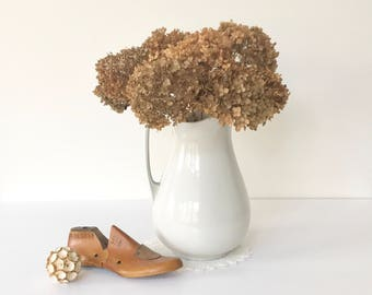 Brown Dried Hydrangeas, 10 Stems