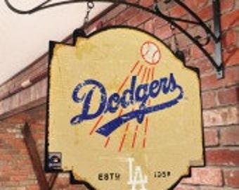 LA Dodgers Tavern Sign With Bracket