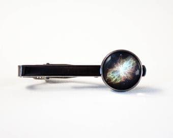 Galaxy tie clip Nebula tie clip Men gift Space jewelry Cosmos jewelry Galaxy jewelry Space tie clip Galaxy tie bar Boyfriend gift Nebula
