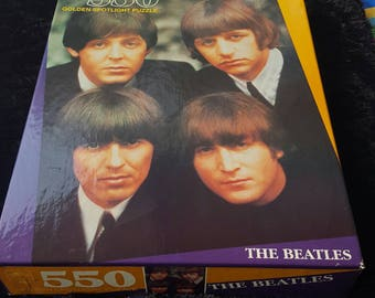 The Beatles 550 Piece Puzzle